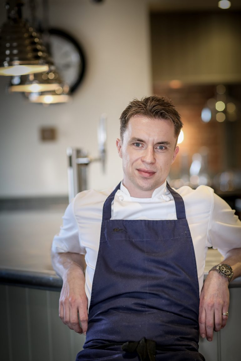James Tanner, Resident chef on ITV's 'The Lorraine Show' will host the prestigious gala celebration dinner on Thurs 9th March at Hotel De France.