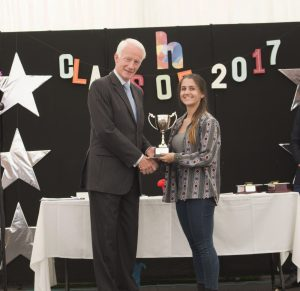 SANNE Student of the year - Jasmine Samuels